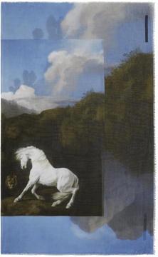 Stella McCartney Multicolor Pegasus Scarf