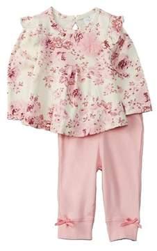 Laura Ashley Girls' 2pc Pant Set.