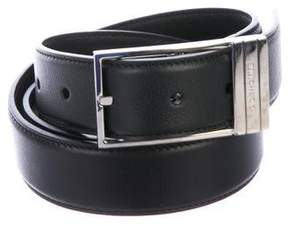 Christian Dior Pebbled Leather Belt