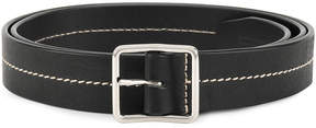 DSQUARED2 belt with stitching detail