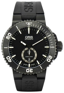 Oris Aquis Diver 7674 Titanium / Rubber Automatic 47mm Mens Watch