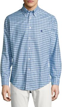 Brooks Brothers Men's Gingham Long Sleeve Sportshirt