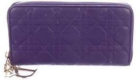 Christian Dior Leather Cannage Wallet