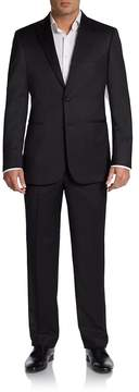 Saks Fifth Avenue BLACK Men's Classic-Fit Wool Two-Button Tuxedo