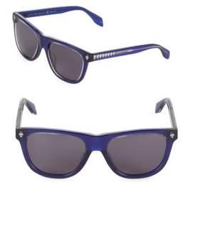 Alexander McQueen 53MM Wayfarer Sunglasses