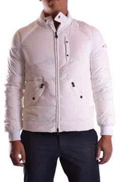 Peuterey Men's White Polyamide Outerwear Jacket.