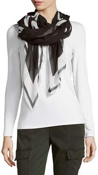 Karl Lagerfeld Women's Two-Tone Scarf