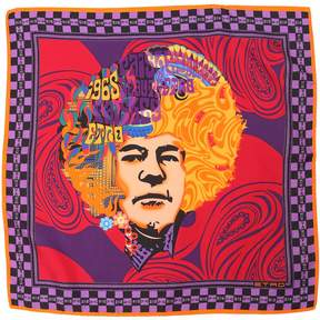 Etro Jimi Hendrix Silk Pocket Square