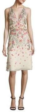 Jenny Packham Sleeveless Embellished Dress