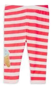 Billieblush Baby's& Toddler's Ice Cream Graphic Stripe-Print Leggings