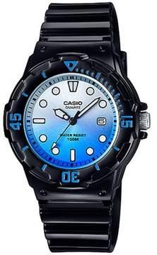 Casio Women's Dive-Style Watch, Blue Dial
