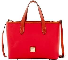 Dooney & Bourke Pebble Grain Brandy Bag - RED - STYLE