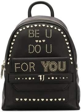 Trussardi Jeans Be U studded backpack
