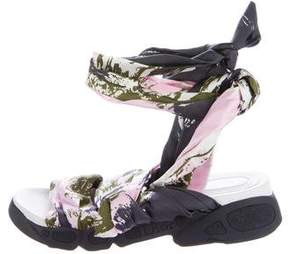 Christian Dior Brooklyn Printed Sandals