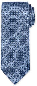 Neiman Marcus Floating Medallion Silk Tie
