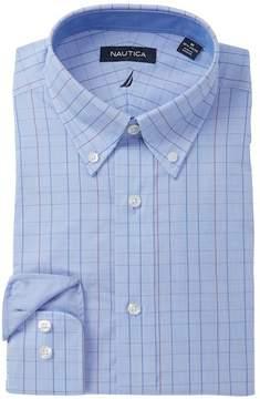 Nautica Windowpane Classic Fit Dress Shirt