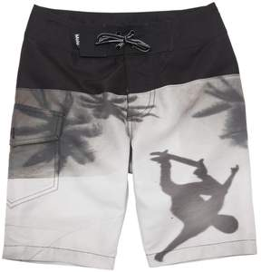 Molo Skater Printed Nylon Long Swim Shorts