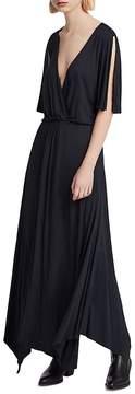 AllSaints Amira Crossover Maxi Dress