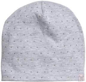 H&M Fleece-lined jersey hat - Gray