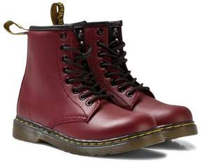 Dr. Martens Red Brooklee Delaney Leather 1960 Boots