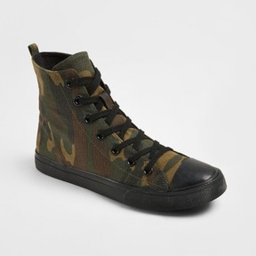 Mossimo Women's Lux High Top Canvas Sneakers