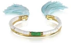 Aurelie Bidermann Women's White Metal Bracelet.