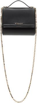Givenchy Black Mini Pandora Box Chain Bag