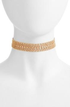 Danielle Nicole Women's Elm Choker Necklace