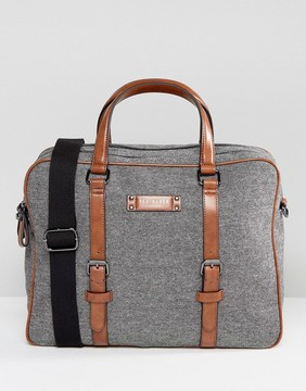 Ted Baker Digger Document Bag in Wool