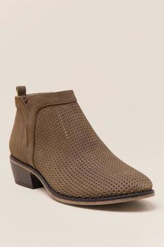Restricted Nadia Perforated Ankle Boot