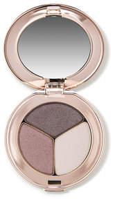 Jane Iredale PurePressed Eye Shadow Triple - Sundown - pearl grey purple shimmery grey and pale pearl grey