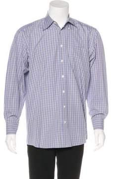 Luciano Barbera Check Woven Shirt