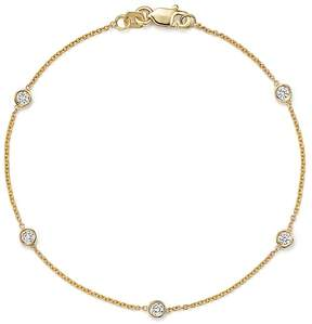 Bloomingdale's Diamond Station Bracelet in 14K Yellow Gold, .25 ct. t.w.