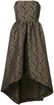 Co strapless napkin dress
