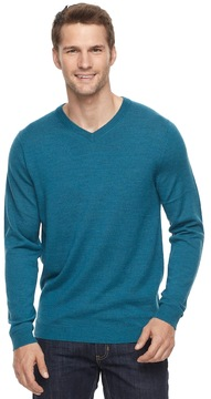 Apt. 9 Men's Modern-Fit Merino Wool Blend V-Neck Sweater