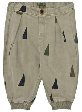 Bobo Choses Green Sails Baggy Trousers