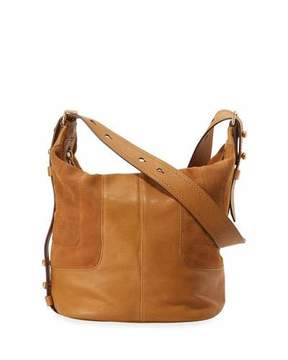 Marc Jacobs The Sling Mixed Leather Hobo Bag, Mustard - MUSTARD - STYLE