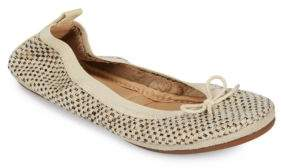 Yosi Samra Dress Foldable Woven Flats
