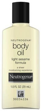 Neutrogena® Body Oil - Light Sesame Formula - Sesame Oil - 1 fl oz/48ct