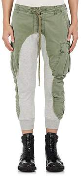 Greg Lauren Men's Cotton Slim Lounge Pants