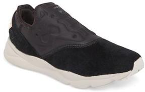 Reebok Women's Furylilte Slip-On Fbt Sneaker