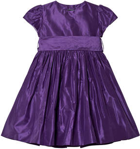 Oscar de la Renta Purple Party Dress