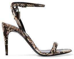 Tom Ford Python Sandals