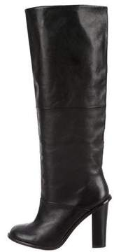 Tibi Leather Knee-High Boots