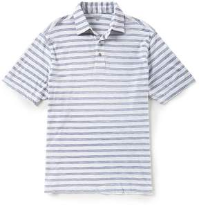 Roundtree & Yorke Short-Sleeve Stripe Polo
