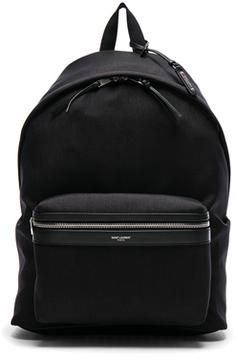 Saint Laurent Backpack in Black.