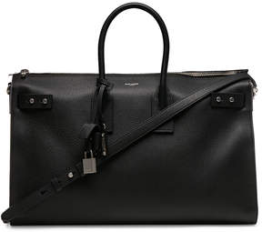 Saint Laurent Medium Zipped Supple Sac de Jour Duffel Bag