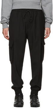 Juun.J Black Drawstring Cargo Pants