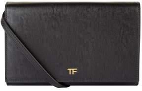 Tom Ford Leather Logo Clutch