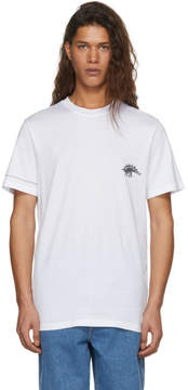 Lanvin White Embroidered Dino T-Shirt